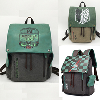 Anime Cosplay Demon Slayer Adult My Hero Academia Boku No Accessory Men Women Backpack Kids Attack on Titan Costume Canvas Bag