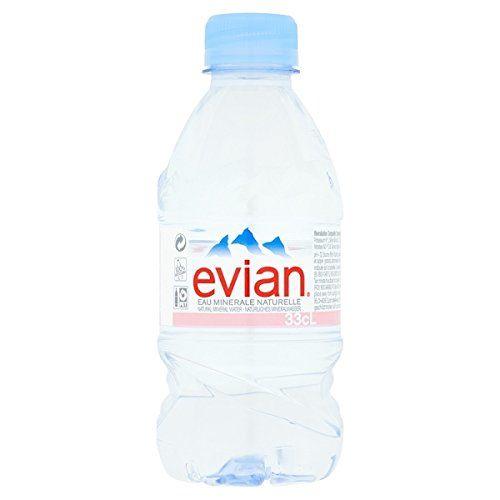 Evian Natürliches Mineralwasser 330ml (Packung Mit 24 X 330 Ml)