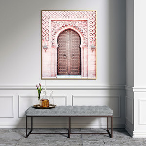 Image 2 - Carteles de Marruecos para sala de estar, póster Nórdico del Sahara, arte de pared islámico, pintura en lienzo moderna, imágenes de pared de moda, sin marco