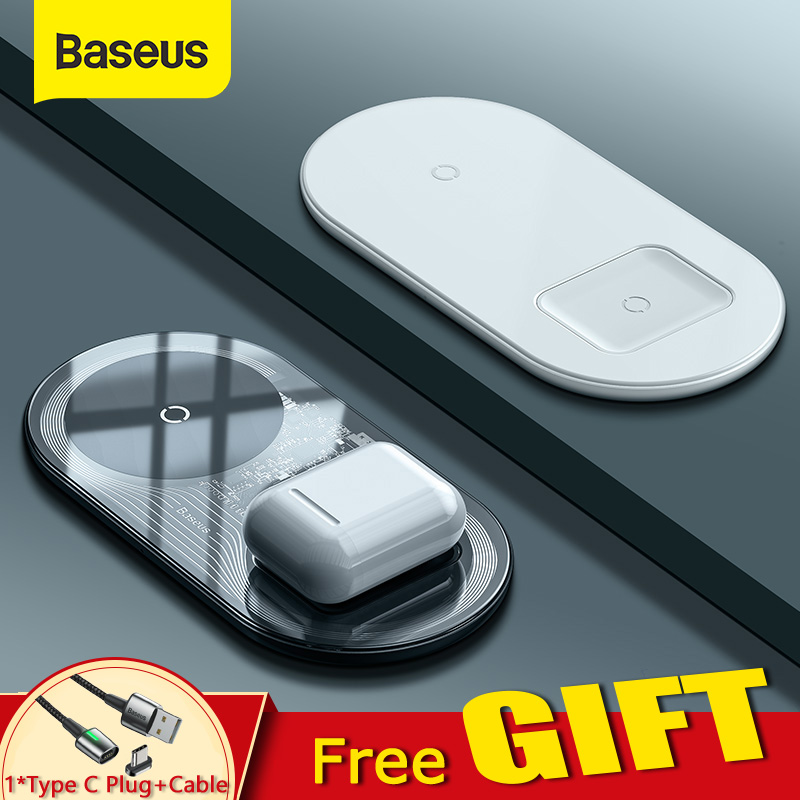 Baseus Visible Wireless Charger Wireless Chargepad for iPhone Airpods 15W Fast Charging Wireless Charge Pad QI Enabled Devices|Wireless Chargers|   - AliExpress