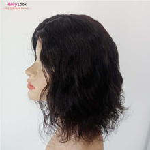Human-Hair Wig Women Brazilian with 150%Density for Body-Wave Envy-Look Natural-Color