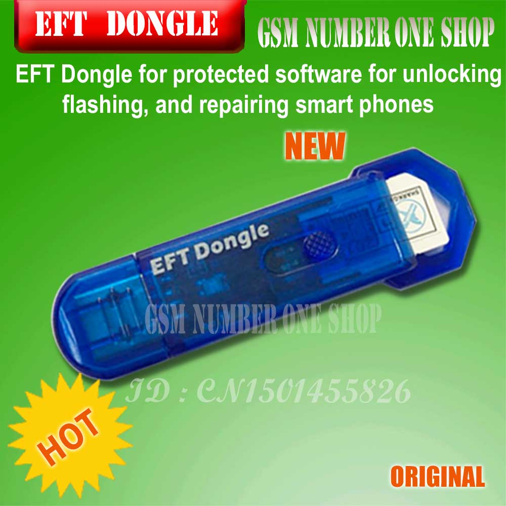 2020 Original New EASY FIRMWARE TEMA / EFT DONGLE / EFT KEY  Free Shipping