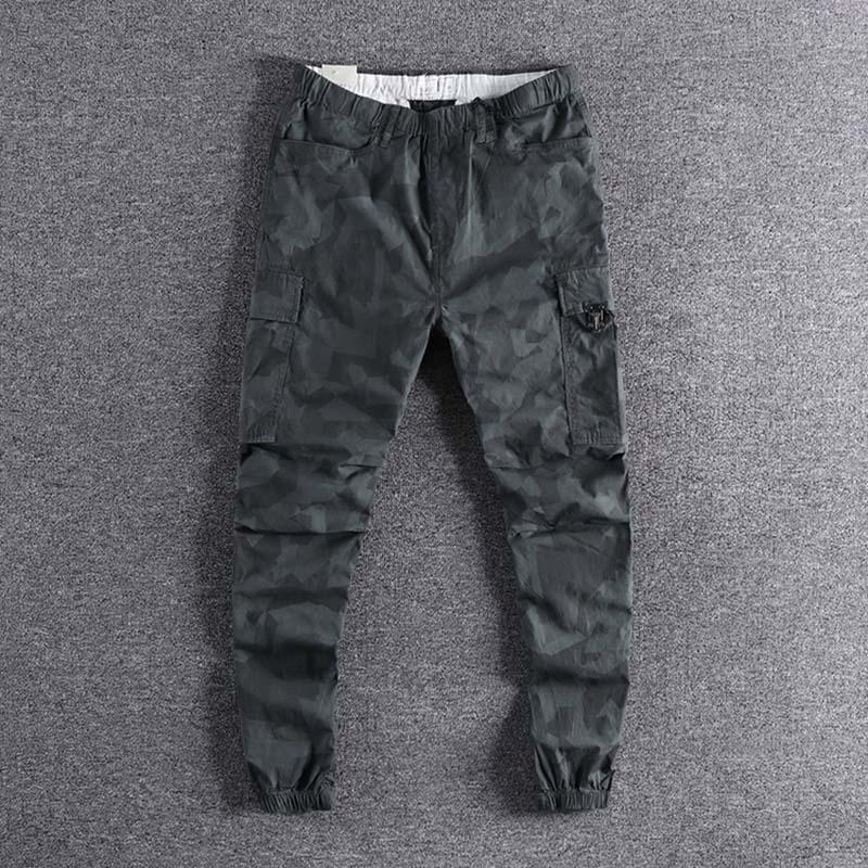 2019 nouvelle mode en plein air mince élastique jeunes Sports bas pantalon hommes loisirs pantalon simple designer de haute qualité promotion XL
