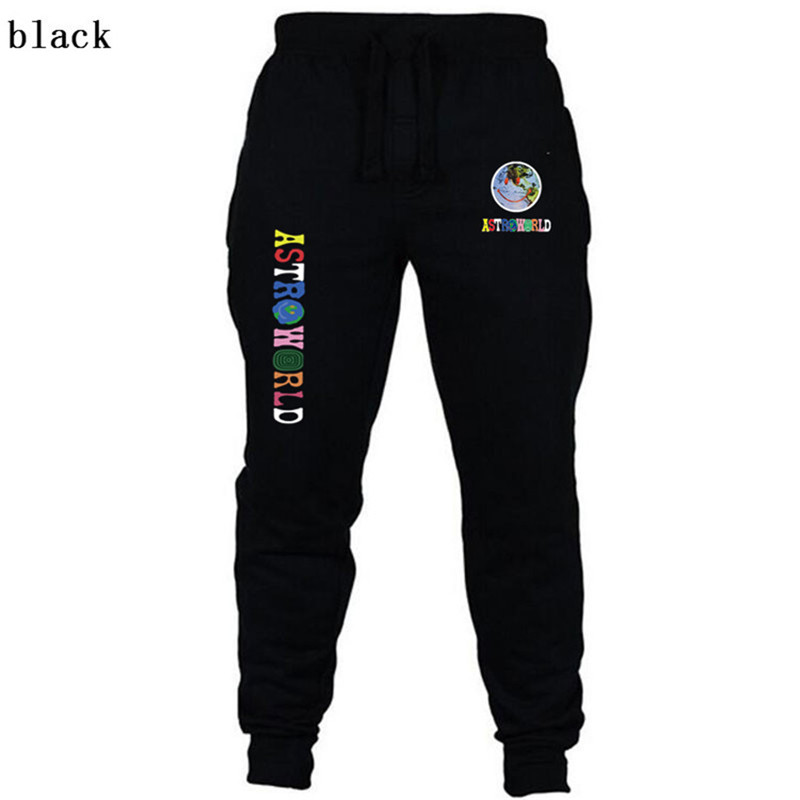 New Travis Scott ASTROWORLD Pants Women Men High Quality Printing Joggers Streetwear Men Joggers Sweatpants Trousers