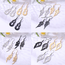 Easter mask Flame Fire Bonfire Indigen Aborigines Big Gold Color Statement Drop Dangle Earring For Woman Christmas Gift