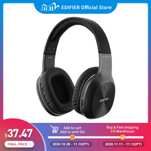 EDIFIER W800BT wireless Headphone Bluetooth 4.0 and wired feature up to 35hrs of in use battery 40mm drivers Bluetooth Earphone