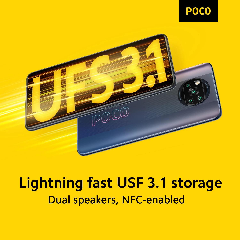 Globale Version POCO X3 Pro 6GB 128GB / 8GB 256GB Handy Snapdragon 860 120Hz dotDisplay 732G 48MP Kamera 5160 Batterie NFC 3