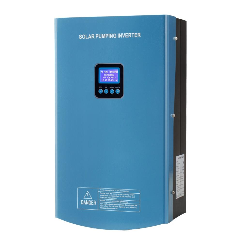 hober mppt vfd 5.5kw 7.5kw hybrid solar pump inverter three phase ip65
