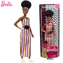 Оригинальные модные куклы Барби с кудрявыми волосами игрушки