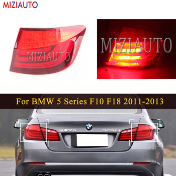 LED Rear Tail Light For BMW 5 Series F10 F18 2011-2013 Sedan Tail Stop Brake Lights Car Accessories Reversing Rear Fog Lamp led rear tail lights for ford transit 2014 tail stop brake lights european version car accessories rear turn signal fog lamp