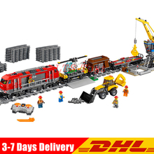 DHL Shipping IN Stock 02009 City Engineering Remote Control RC Train Building Block Compatible Legoing 60098 Brick Kid Toys