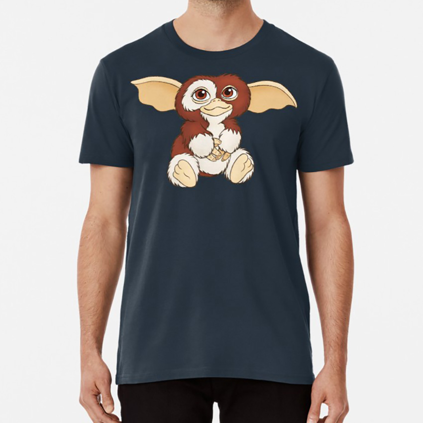 Gizmo T shirt gremlins gizmo mogwai fluffy cute 80s 1980s 80s movies 1980s movies cute image