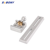 SVBONY 210mm Dovetail Mounting Plate+Middle Size Dovetail Clamp for Astronomy Hunting Telescope Monocular F9144