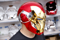[TOP] 1/1 Cosplay Iron Man MK85 Helmet Mask Avengers Endgame Action Figure Collectible Model Toy Kids adult Gift