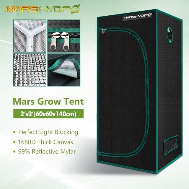 1680D Mars Hydro 60x60x140cm LED Grow Tent box Indoor 1
