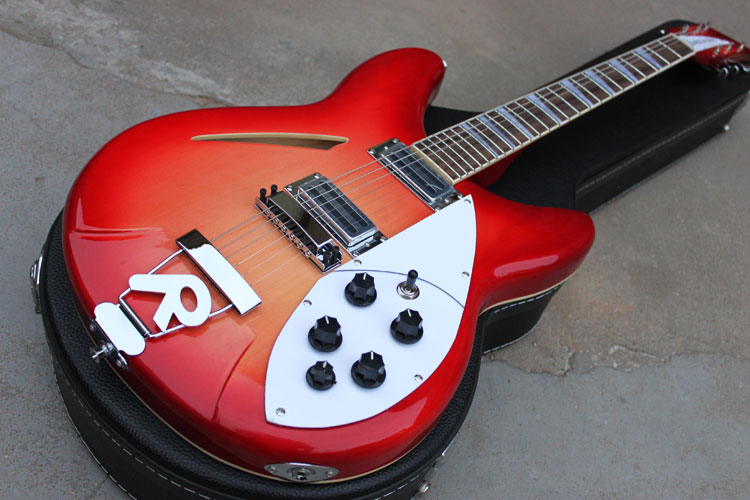 The best price R <font><b>360</b></font> volume version of the semi-hollow electric <font><b>guitar</b></font>. Free shipping image