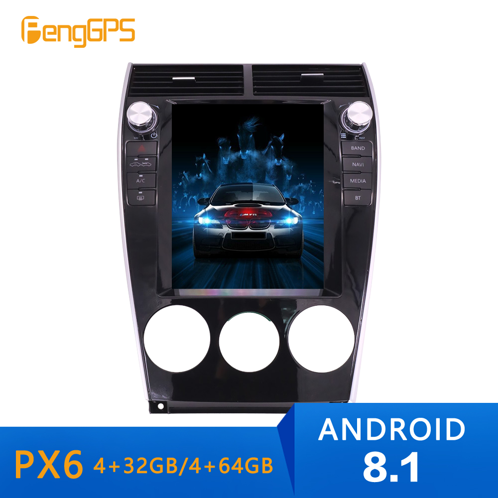 Android 8.1 Tesla Style Car Radio Vertical Screen for Mazda6 <font><b>Mazda</b></font> <font><b>6</b></font> 2002-2008 <font><b>GPS</b></font> <font><b>Navigation</b></font> Recorder Multimedia stereo auto image