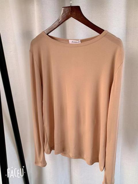 New Spring Top Sexy T Shirt Women Elasticity T-Shirt Summer Tee Woman Clothes Slim Tshirt Female Skinny  Cotton Long Sleeve Tops 5