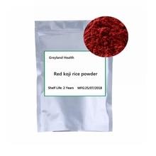 Red koji rice powder, medicinal and food homology, invigorating spleen and digestion, regulating blood pressure, natural food dy