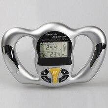Wireless Portable Digital LCD Screen Handheld BMI Tester Body Fat Monitors Health Care Analyzer Meter Detection