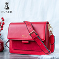 32964848668 - FOXER, bandolera para mujer, bandolera, bolso de hombro, bolso con solapa para mujer, bolso de mensajero para mujer, regalo para el Día de San Valentín