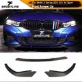 Front Lip for BMW 3 Series G20 G21 M Sport 2017 - 2020 Carbon Fiber Front Bumper Lip Spoiler Splitters Guards