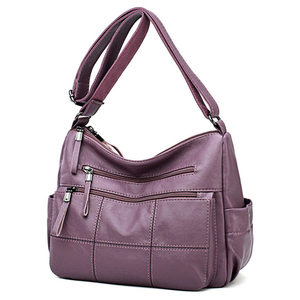 Image 1 - ホット高級ハンドバッグの女性のデザイナーソフト本革レディースハンドバッグ女性のためのクロスボディバッグ 2020 メッセンジャーバッグメイン