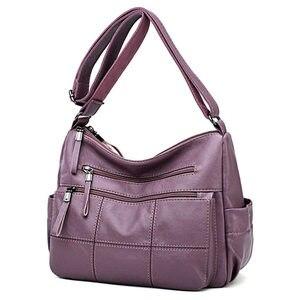 Image 1 - Gorące luksusowe torebki damskie torebki projektant miękkie oryginalne skórzane damskie torebki Crossbody dla kobiet 2020 Messenger torby Sac A Main