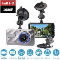 Dash Cam Driving recorder Dual Lens Car DVR Camera Full HD 1080P Front+Rear Night Vision Video Recorder Parking Monitor Auto