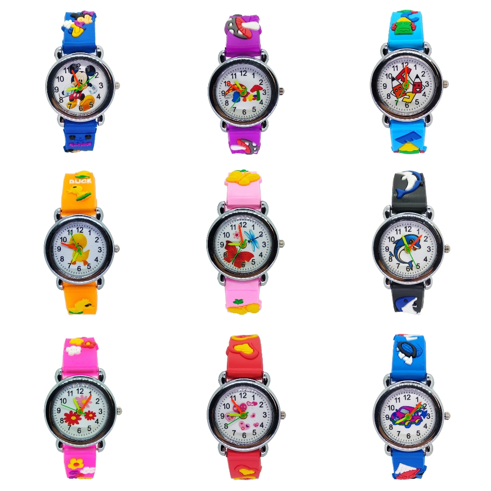 9 Different Style Children's Watches Mickey Car Boys Watch Casual Sports Quartz Girls Kids Watches Wrist Watch Children Clock