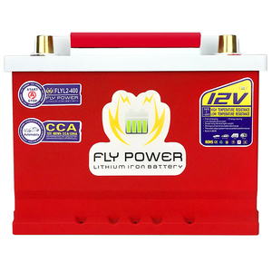 FLYL2-400 High Power 12V 480Wh CCA1200A Automobile lithium iron battery With Jump Starter Protection motor car LiFePO4 battery