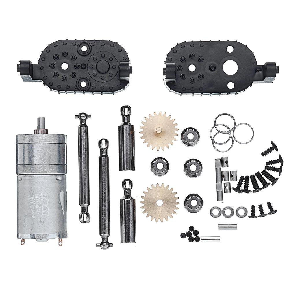 HobbyLane WPL C14 C24 C34 MN <font><b>90</b></font> 91 Gear Box For 1/16 4WD 2.4G Buggy Crawler Off Road 2CH Vehicle Models RC Car Parts image