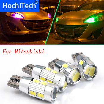 1pc safe T10 LED Clearance Light Lamp Bulb Source For Mitsubishi Asx Lancer Outlander 123 Canter Colt 5 6 7 Grandis Car Styling image