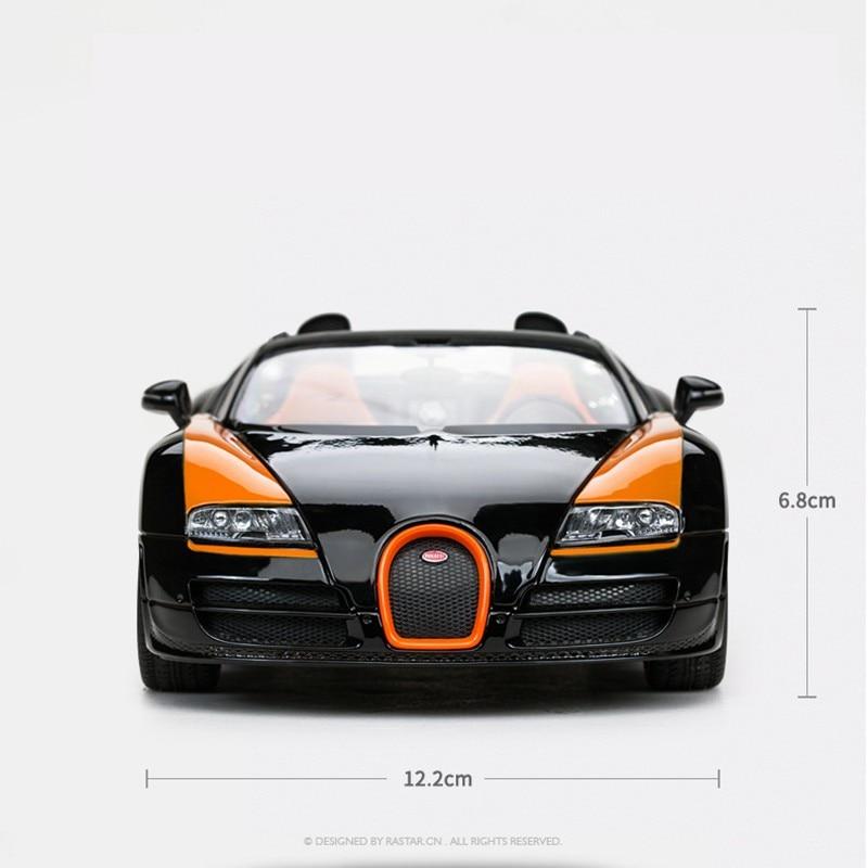 2019 NEW Rastar/Xinghui Entertainment Bugatti Express Alloy Simulation Boy Toy Car Static Car Model 1:18 Toys