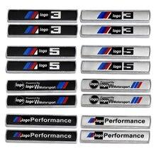 Боковые зеркала автомобиля эмблема на крыло наклейки для BMW M производительность M3 M5 M6 M4 M7 M2 M1 X6 X7 X3 X5 X1 G30 E36 E87 E90 E60 E91 F10 F30 E39 F20