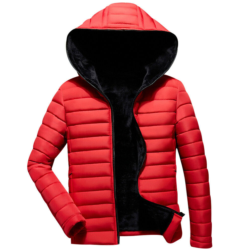 2020 New Parka Coats Warm Man Padded Coat Jacket Puffer Bubble Parka Coats Zip Up Outwear Casual Streetwear Top Clothing