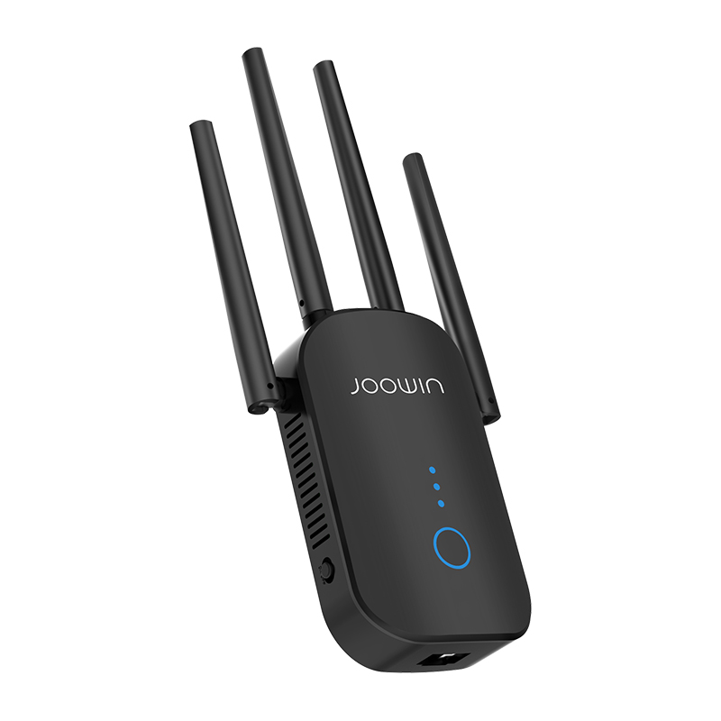AC1200 1200Mbps Wireless Wifi Extender Repeater/Router/AP Dual Band 2.4&5.8Ghz 4 Antenna long Range Signal Amplifier Repeator