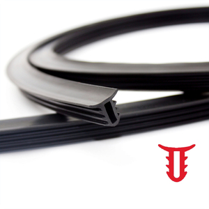 Image 4 - 160cm universal sealing windshield sealing board soundproof automobile rubber strip instrument panel seal strip