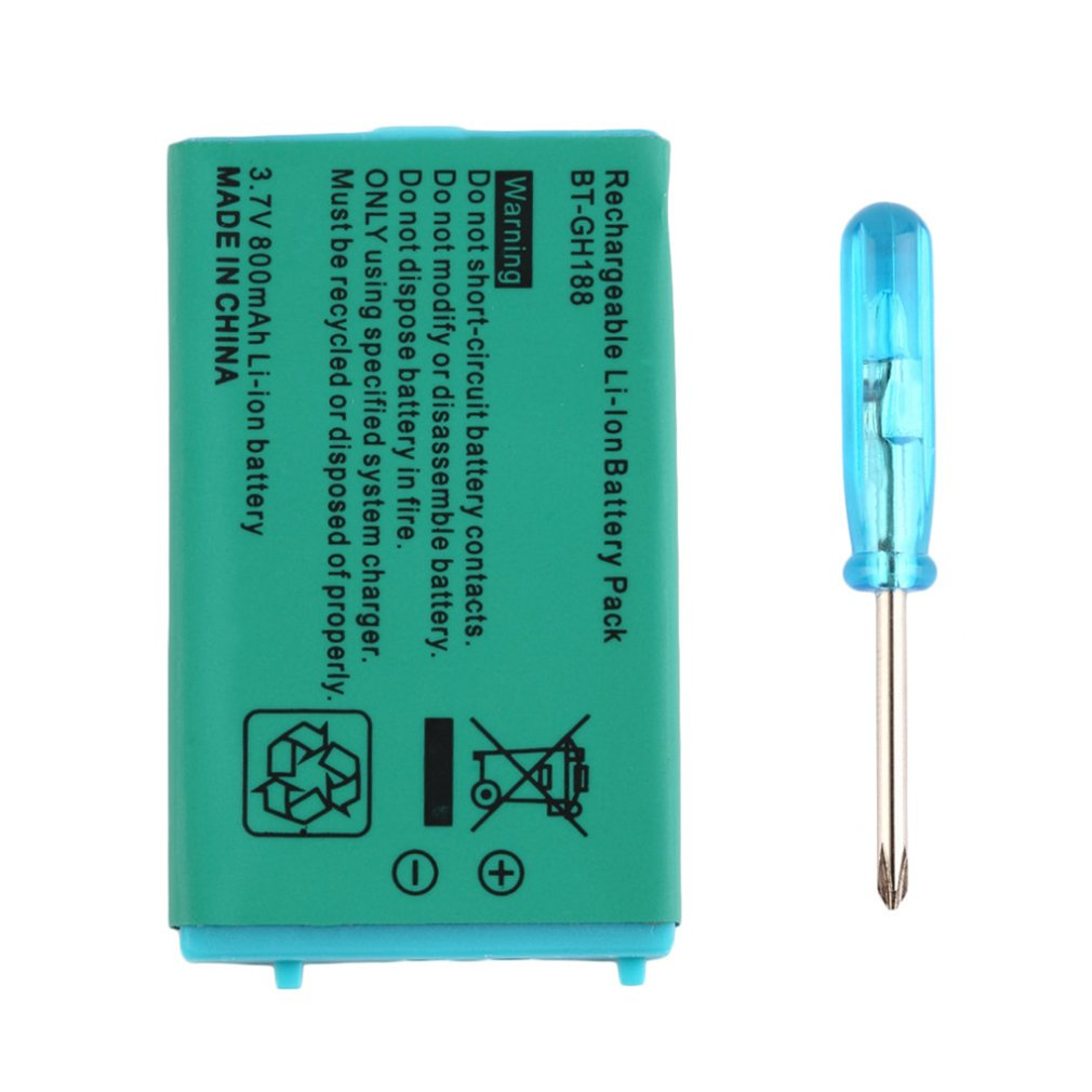 3.7V 850 MAh Rechargeable Battery For Nintendo For Game Boy Advance SP Systems With Screwdriver Lithium Battery