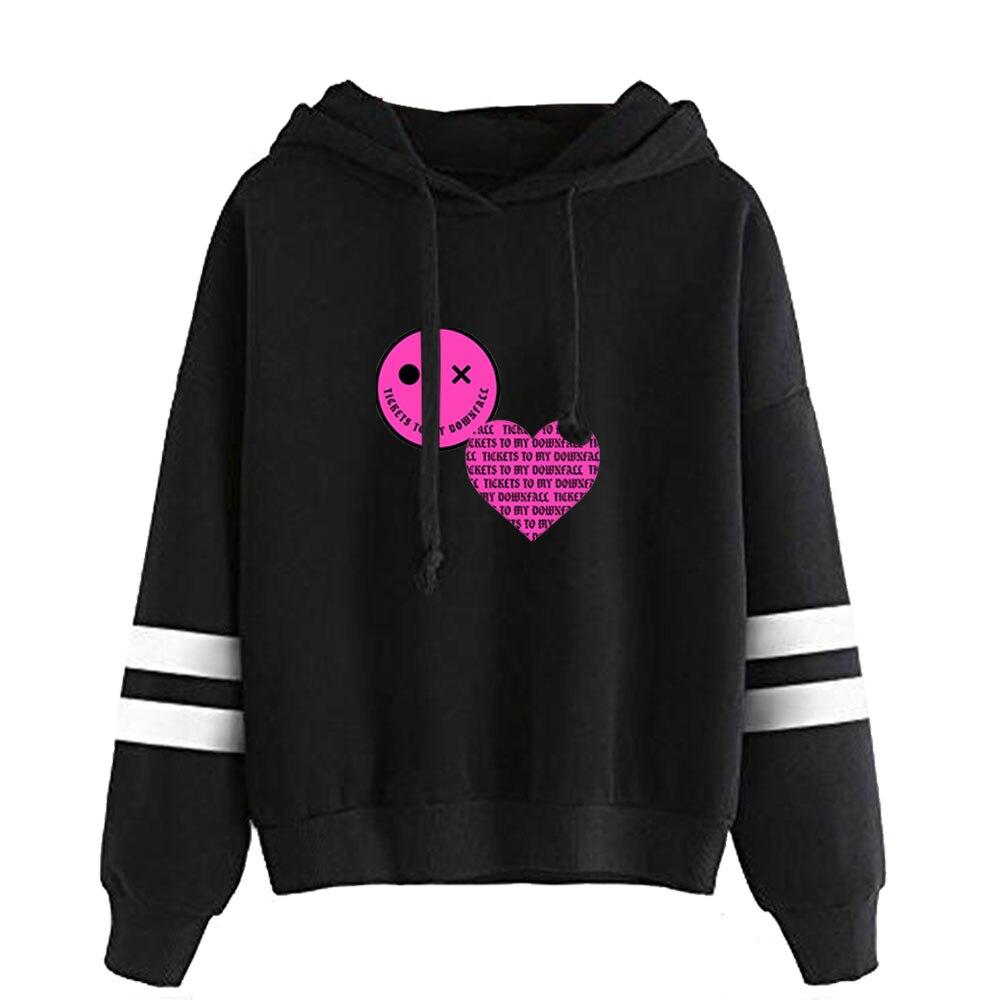 to My Downfall Album MGK Rapper Parallel Bars Sleeves Rapper Hoodies Sweatshirt Casual Hooded 1