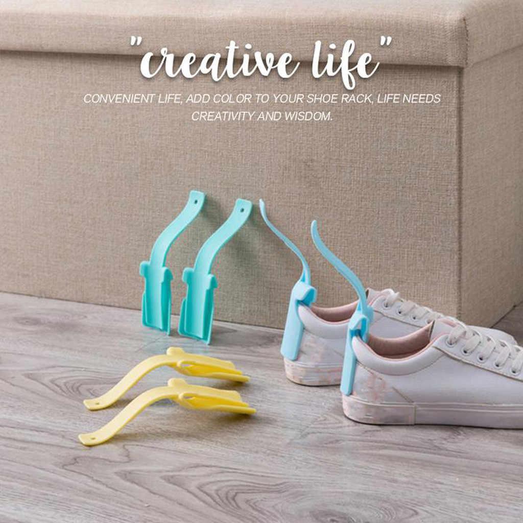 1 Pcs Professionale Calzascarpe Scarpe Pigro Aiuto Facile Da Scarpa Corno Cucchiaio Calzascarpe Scarpe Sollevatore Strumento Scarpa di Sollevamento 2020 Nuove Scarpe strumenti