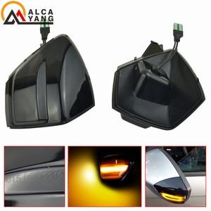 Image 4 - Araba dinamik dönüş sinyal ışığı Ford s max 07 14 Kuga C394 08 12 c max 11 19 LED ayna tekrarlayıcı sıralı göstergesi flaşör