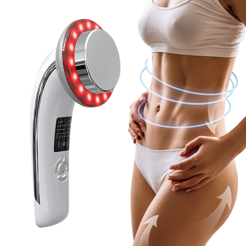 Six In One Slimming Instrument Color Compact Slimming Instrument LED Ultrasonic Cosmetology Instrument Body-shaping Instrume
