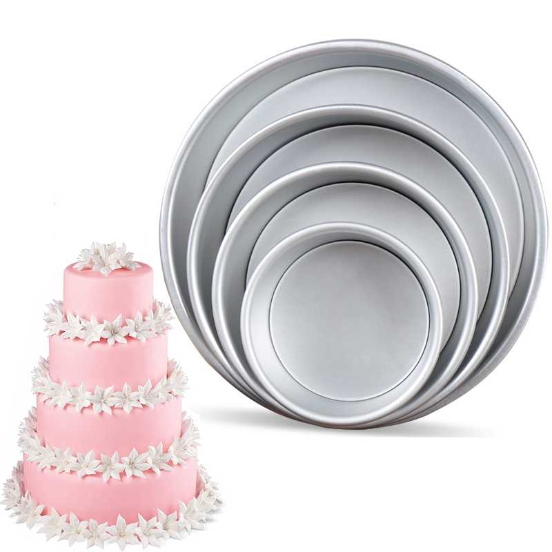 Awesome Round Cake Pan With Removable Bottom Anodized Aluminum Round Personalised Birthday Cards Cominlily Jamesorg