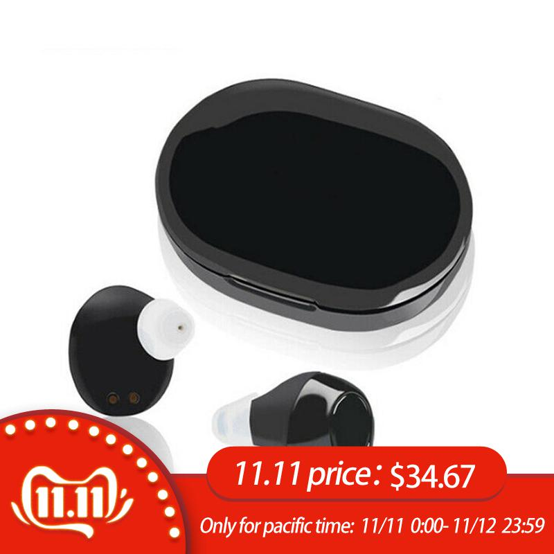 Mini Rechargeable Ite Invisible CIC Hearing Aid Digital Adjustable Tone Sound Amplifier Hearing Aid For The Elderly Hearing Loss