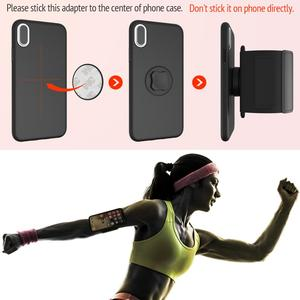 Image 5 - Universal Phone carrying Cases for hand Sport Armband phone holder Cover for Running Arm Band base for iPhone/for Huawei handbag
