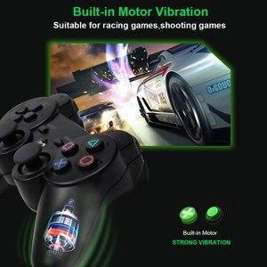 Image 3 - 무선 블루투스 원격 게임 조이패드 컨트롤러 PS3 Controle 게임 콘솔 조이스틱 PS3 콘솔 게임 패드 PC 용