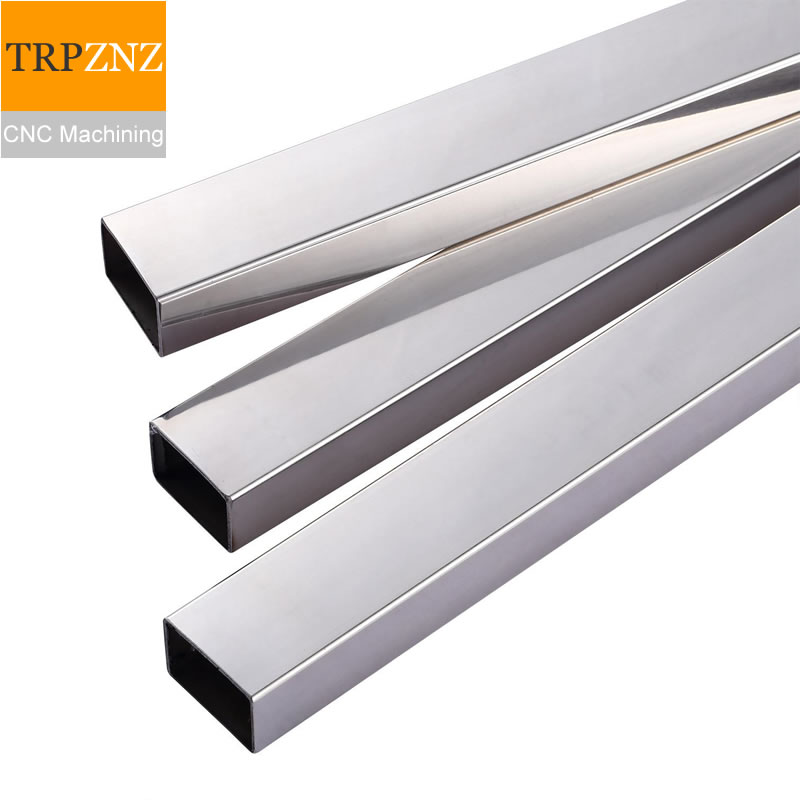 201/304 Stainless Steel Square Tube Rectangular Pipe Square Flat Tube Surface Plating Welding Shelf,CNC Machining,laser Cutting