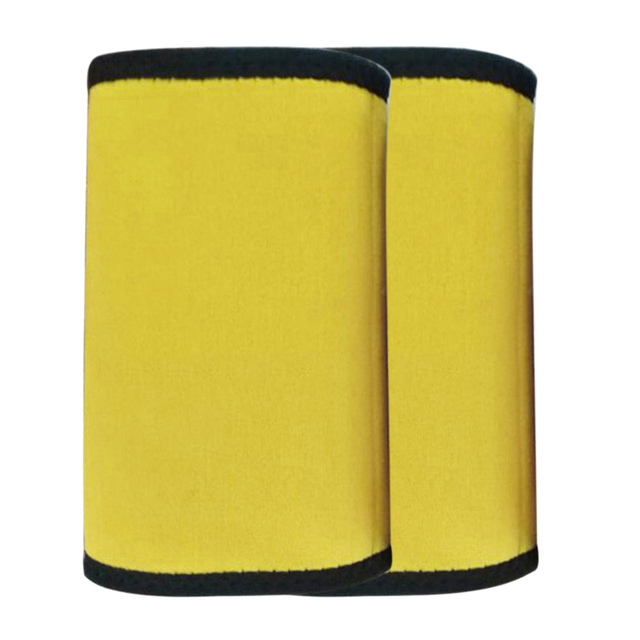 1 Pair Fitness Body Shaper Pad Running Arm Sleeve Wrap Sweat Belt Weight Loss Slimming Warmers Breathable Protective Sports 2