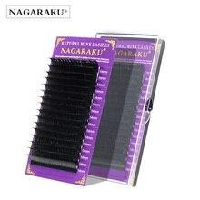 NAGARAKU высококачественные накладные ресницы из искусственной норки Индивидуальные ресницы накладные ресницы J B C D мягкие и натуральные ресницы